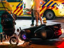 Meerdere gewonden door ongeluk met scooter en kinderwagen in Someren
