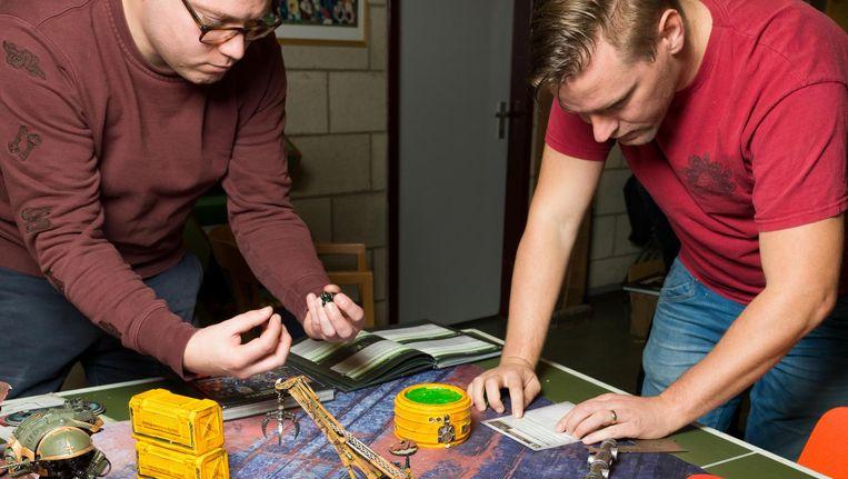 Dick van der Harst (l) en Ricardo Barrientos de Reus Beeld Ivo van der Bent