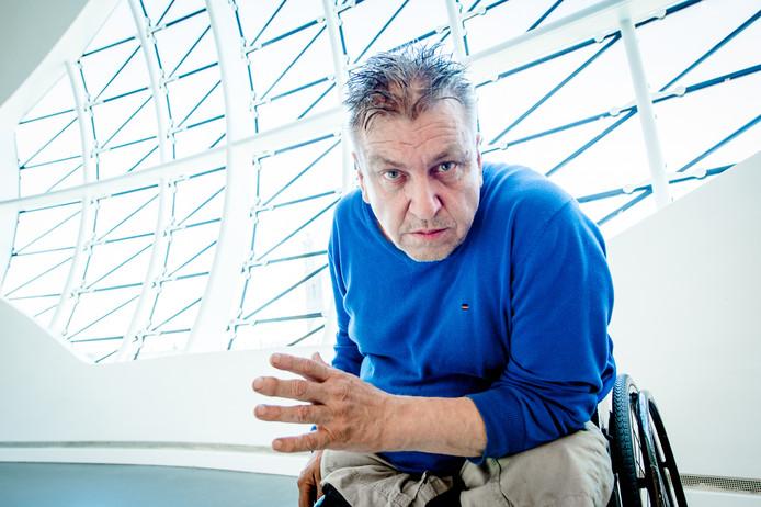 Kunstenaar Rob Scholte