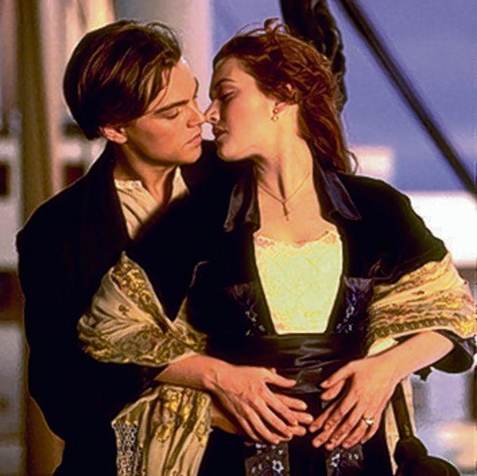 Eén van de meest bekende kus-scenes zat in Titanic.
