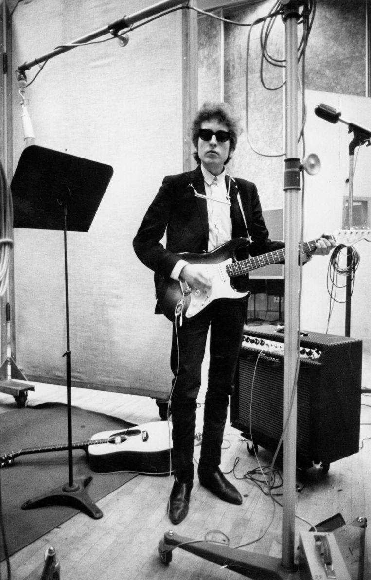 Bob Dylan in 1970 Beeld getty