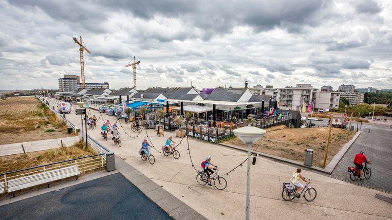 De boulevard van Kijkduin. De sloop van dit gedeelte begint in december 2020. Beeld Raymond Rutting