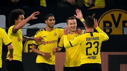 LIVE. Dan toch bingo voor Dortmund: Reus scoort na knappe assist Thorgan Hazard!