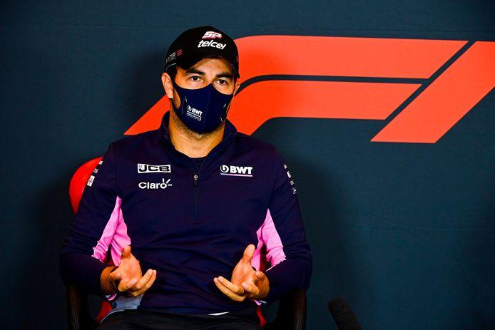 Sérgio Perez, nu nog coureur van Racing Point.