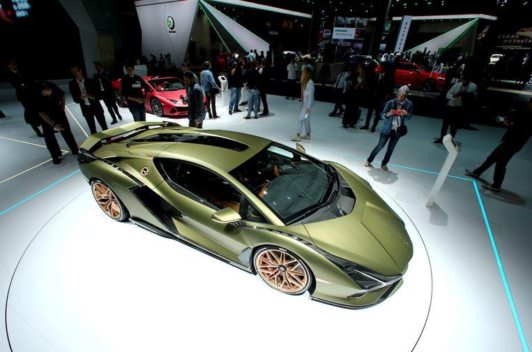 Lamborghini Sian FKP37.