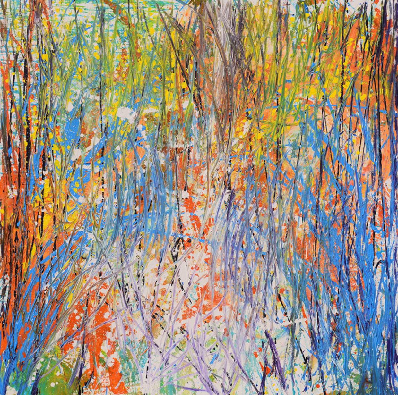 Autumn in Canada (2019) van de jonge Vietnamese schilder Xeo Chu.