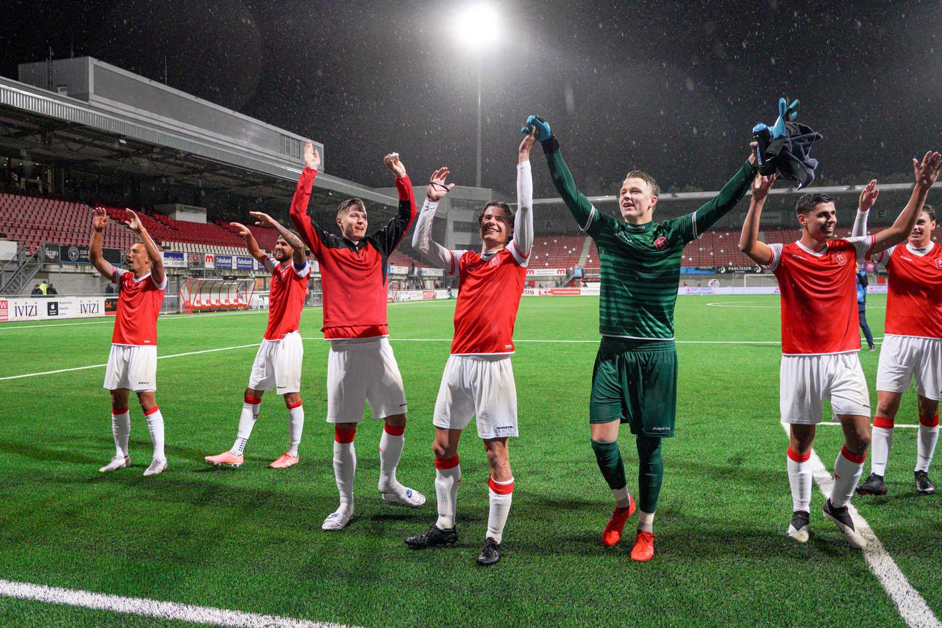 De spelers van MVV Maastricht.