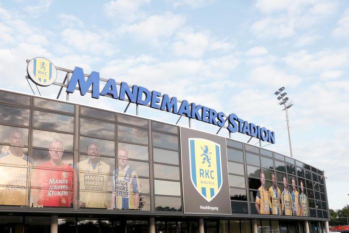 Het stadion van RKC Waalwijk.