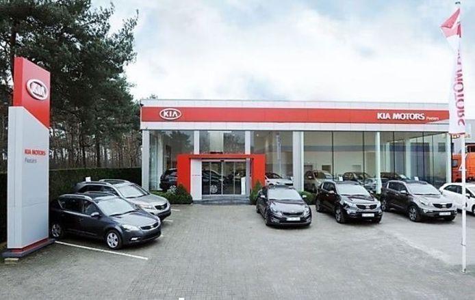 De Kia garage van Groep Peeters in Herentals.