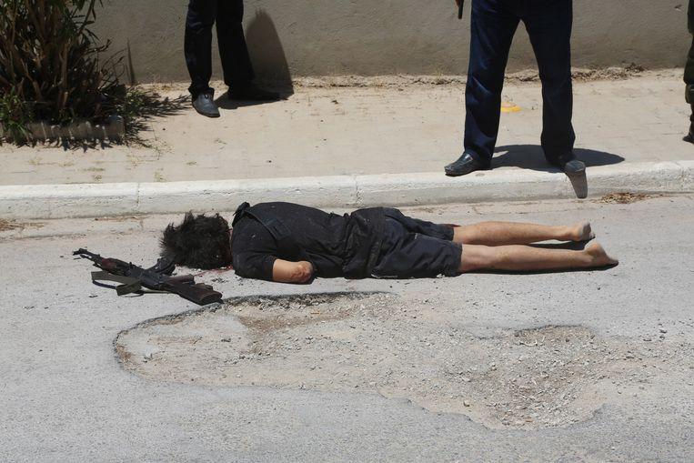 Rezgui werd doodgeschoten door een agent.