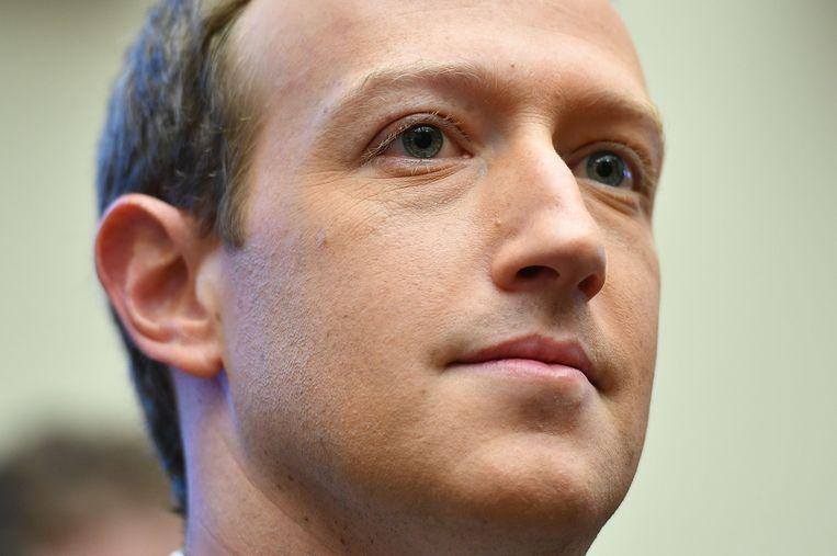 Mark Zuckerberg. Beeld AFP