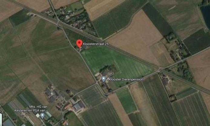 Het buitengebied rond het boerenbedrijf en dierenpension van Breunisse. Hij vreest klachten van omwonden als er woningen worden gebouwd en de Raad van State deelde die mening. Overbetuwe moet het bestemmingsplan opnieuw maken.