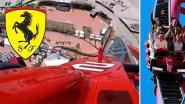 Ferrari opent hoogste en snelste achtbaan van Europa
