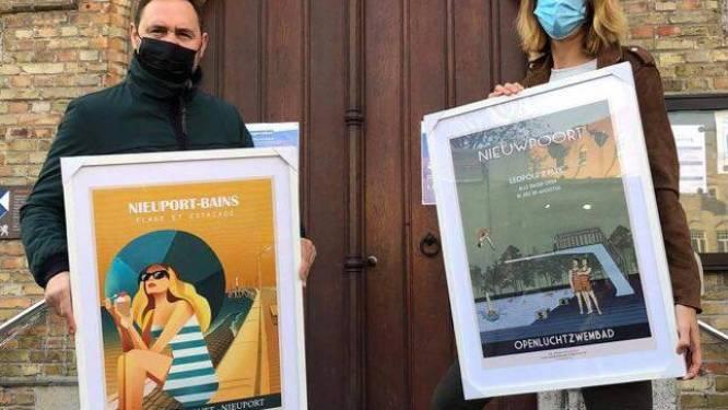 Ondernemer en schepen Bert Gunst steunt kinderarmoede met afficheverkoop