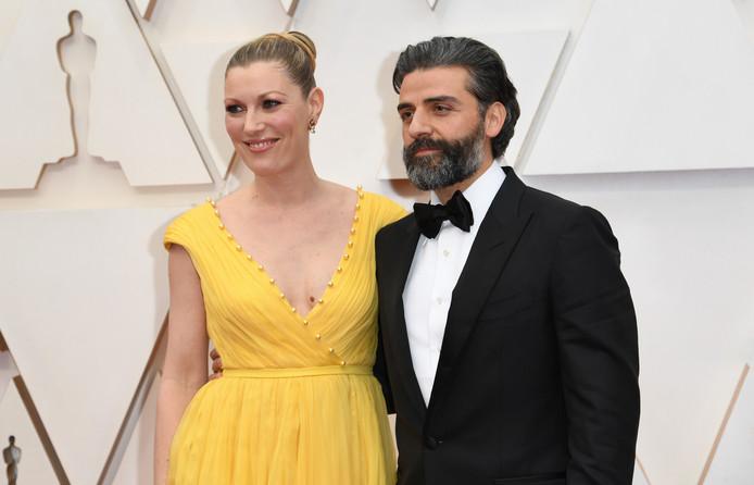 Oscar Isaac et sa femme