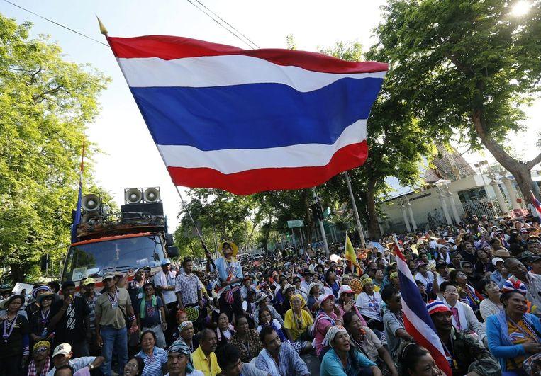 Protesten tegen de regering op 13 mei