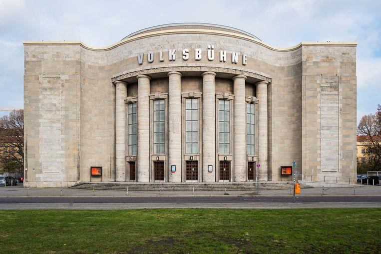 De Volksbühne in Berlijn. Beeld Christoph Neumann