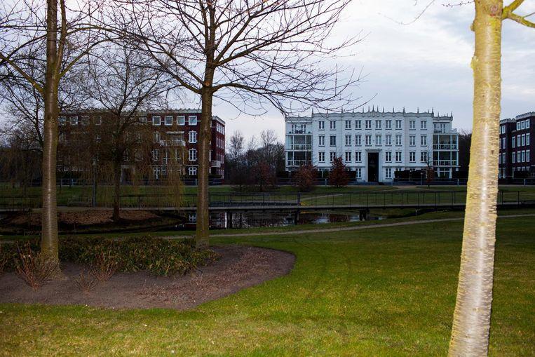 Seniorenresidentie Van Ommerenpark in Wassenaar. Beeld null