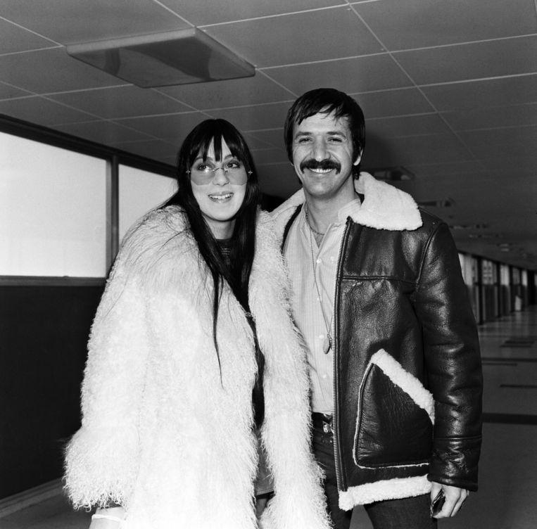 Cher en Sonny, 1969. Beeld null