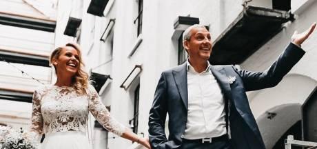 Gert Verhulst na tien jaar in het huwelijksbootje gestapt