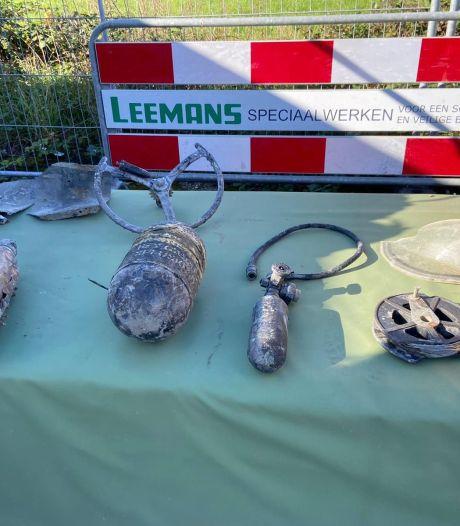 Leemans Vriezenveen stuit op stoffelijke resten tijdens berging bommenwerper Markermeer