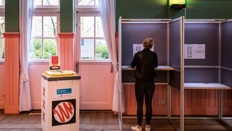 De stadsdeelcommissies zullen na de verkiezingen worden gedomineerd door de grote partijen, zegt onderzoeker Henk van der Kolk. Beeld ANP