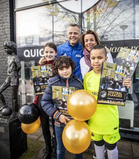 Time-out voor voetbalplaatjesactie Quick'20 en Jumbo Kuipers in Oldenzaal