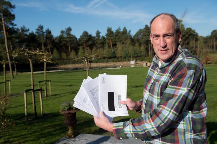 Marc Flipsen, eigenaar van Landgoed Sollewerf, ligt al jaren met de gemeente Apeldoorn in de clinch.