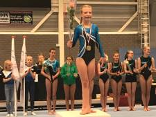 Roxy ten Bruin uit Eibergen regiokampioen turnen