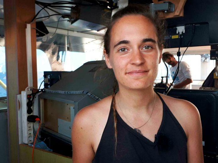 Sea-Watch 3 kapitein Carola Rackete.