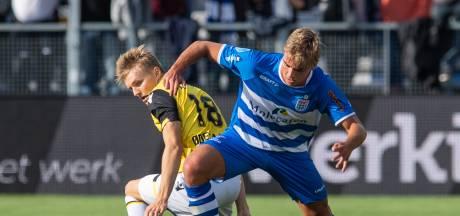 PEC Zwolle op eigen veld onderuit door goals van Vitesse-spits Matavz