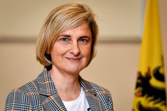 Vlaams minister van Landbouw Hilde Crevits (CD&V).