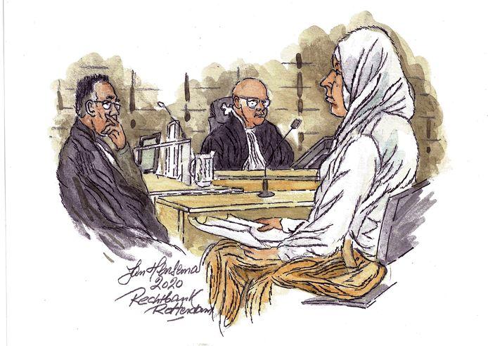 Fatima H. voor de rechter.