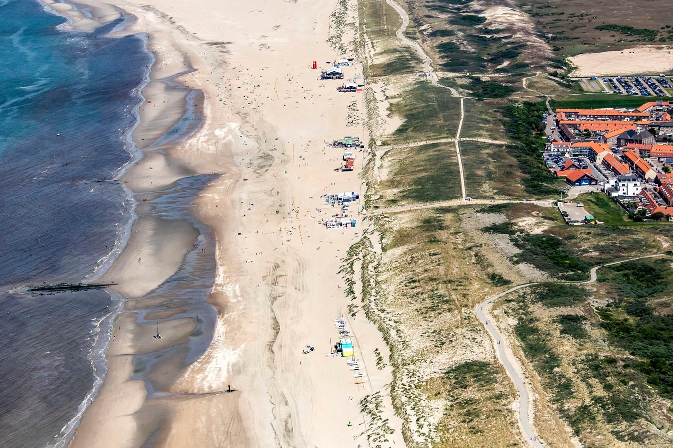 Strandpaviljoens langs de Westlandse kust