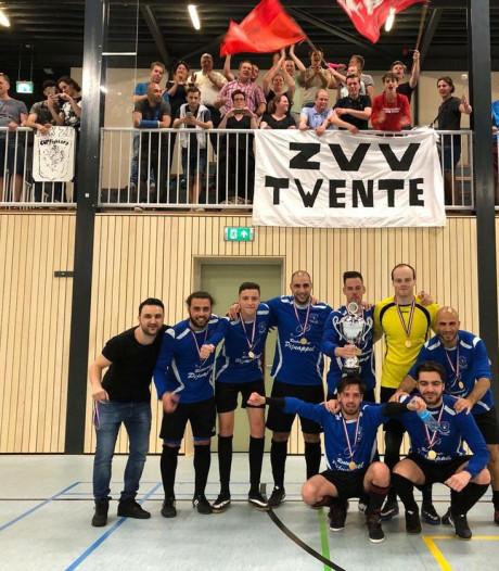 ZVV Twente wint Districtsbeker zaalvoetbal