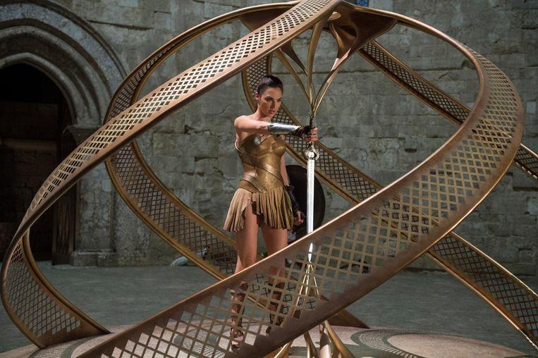 Gal Gadot als Wonder Woman. Beeld Alex Bailey