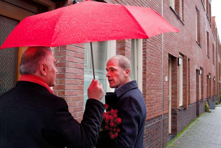 PvdA-leider Diederik Samsom. Beeld null