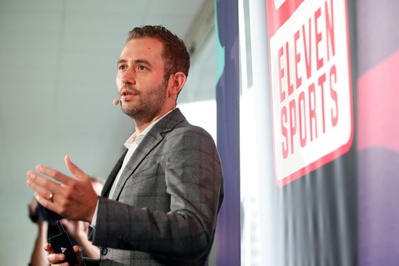 Guillaume Collard, Managing Director van Eleven Sports.