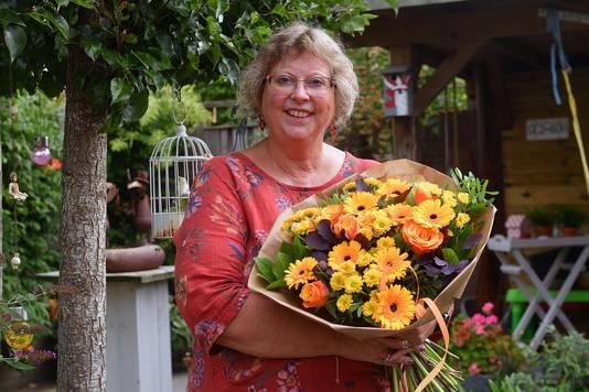 Prijswinnares Sissy van Rijsbergen.