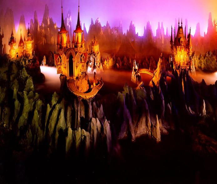 Het kastelenrijk in Droomvlucht.
