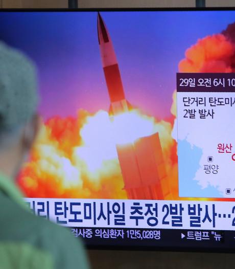 Noord-Korea vuurt opnieuw raketten af