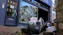 Eerste verdachte aangehouden voor rellen in Brussel