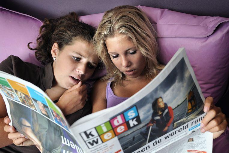 Jongeren (Marcel van den Bergh / de Volkskrant) Beeld