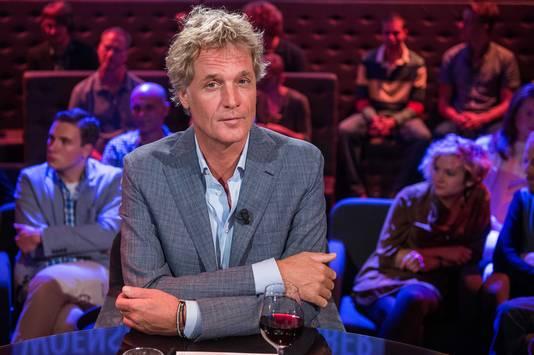 Presentator Jeroen Pauw behandelde het vluchtelingenprobleem in zijn talkshow