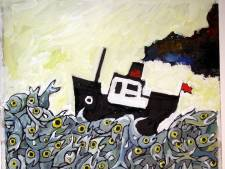 Tekeningen van kinderboekenschrijver Wim Hofman te zien op website MuZEEum