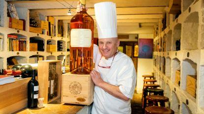 Iemand een wijntje... van 20.000 euro? Antwerps restaurant verkoopt exclusieve fles van 20 liter