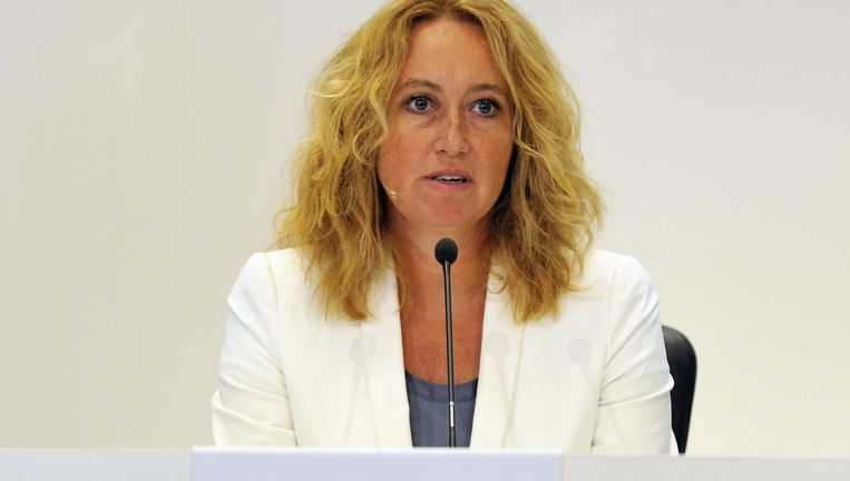 Herna Verhagen, topvrouw bij PostNL. Beeld ANP