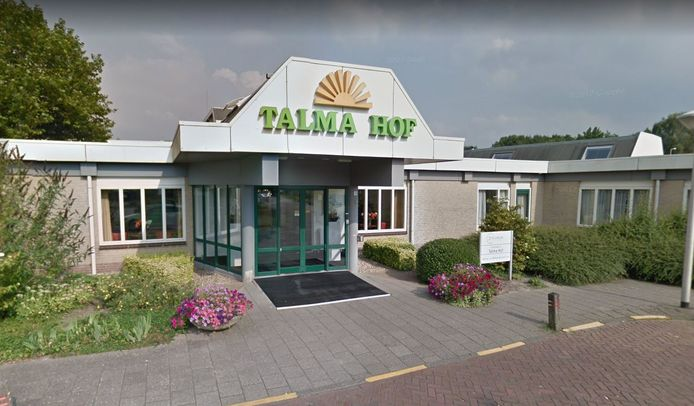 De entree van de Talma Hof in Emmeloord.