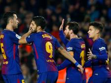 Drietrapsraket Barça maakt na horrorstart gehakt van dapper Girona