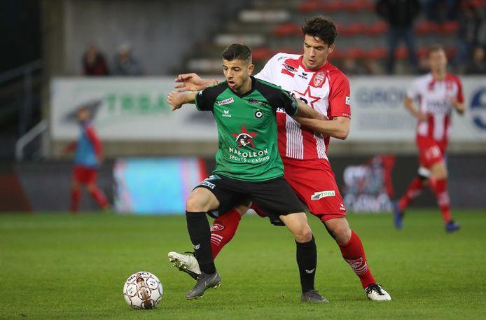 Adrien Bongiovanni, hier in actie in zijn tijd bij Cercle Brugge, kan zaterdag weer meetrainen bij FC Den Bosch.